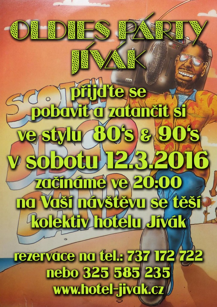 oldies party jivak 12.3